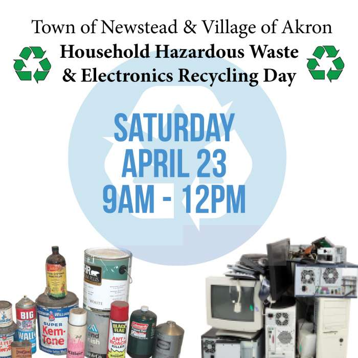 Town of Newstead & Village of Akron (Spring)